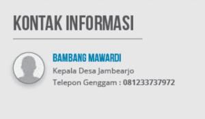 kontak informasi inovasi sertifikat tanah