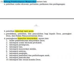 Pasal 6 ayat (5) Permendagri 114