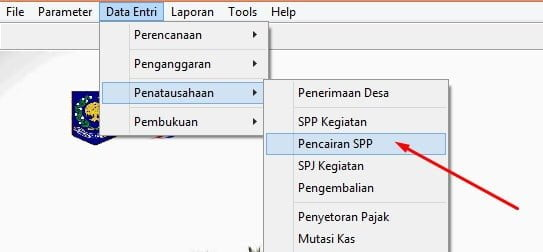 pencairan spp definitif
