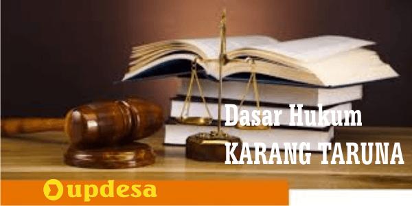 dasar hukum karang taruna