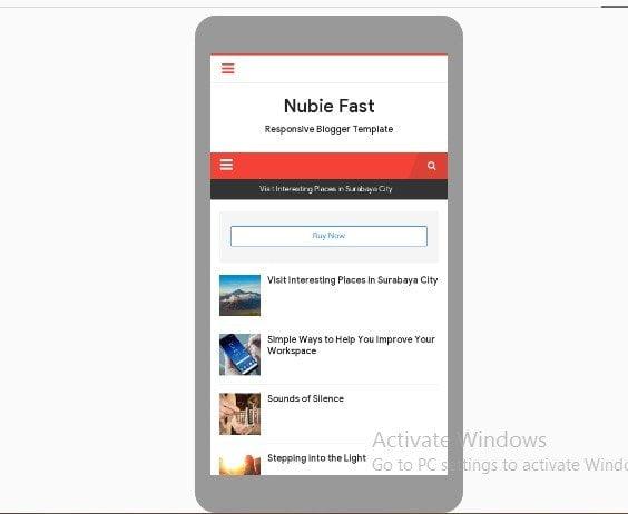 Template Web Desa Nubie Fast
