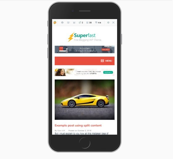 template web desa superfast