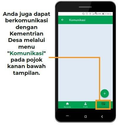 komunikasi aplikasi bumdes