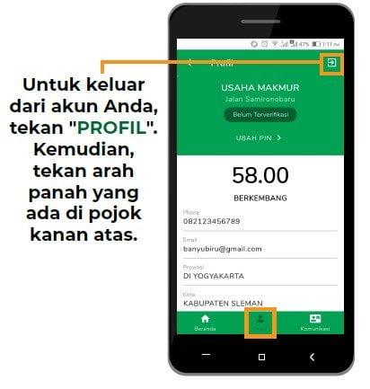 profil aplikasi
