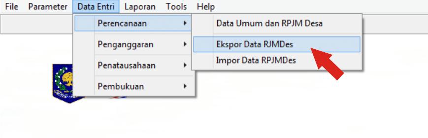 Ekspor dan Impor Data RPJMDes