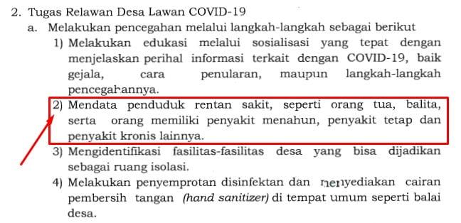 isi surat edaran menteri desa nomor 8 tahun 2020
