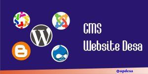 cms untuk website desa