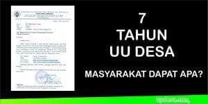 Peringatan 7 Tahun Undang-Undang Desa