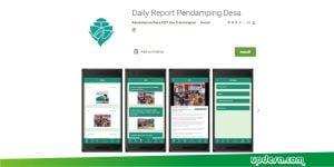 Aplikasi Daily Report Pendamping Desa