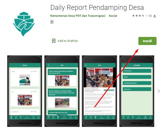 Daily Report Pendamping Desa