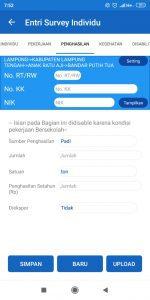 Penghasilan aplikasi sdgs desa