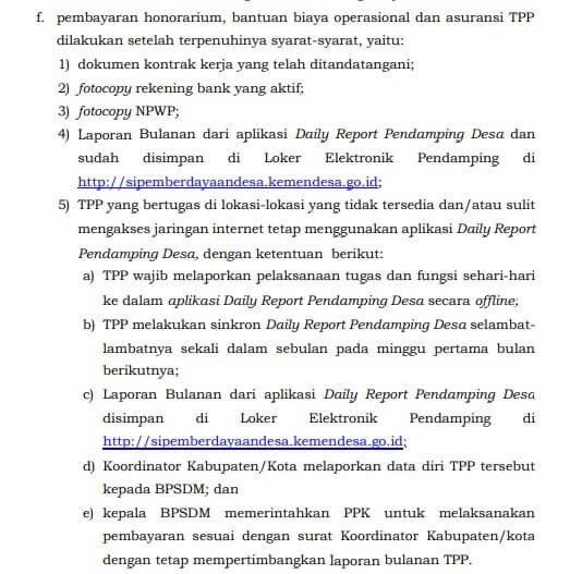 Kepmendesa PDTT 40/2021